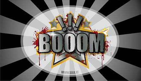 """BOOOM!!!"" Logo  © SILK Fluegge"