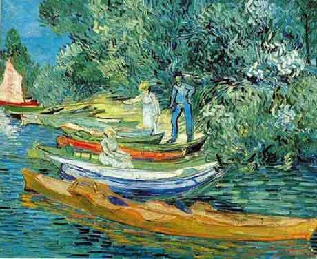 Boote am Ufer der Oise © Loving Vincent Sp.z.o.o. & Loving Vincent Ltd.