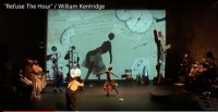 """Refuse the Hour"" William Kentridge, ImPulsTanz 2013 © Videoausschnit / ImPulsTanz"
