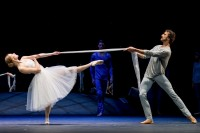 Die Ballerina und ihr Partner in Paris (Esina, Lazik) © Wiener Staatsballett / Ashley Taylor