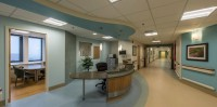 Der Empfang im Spital. © http://mpn-arch.com/projects/healthcare