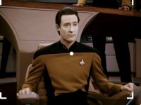 Lt Commander Data, der Androide in der Fernsehserie Star Trek (Raumschiff Enterprise). © Paramount Pictures