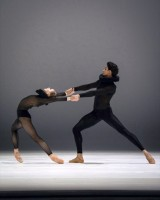 "Natascha Mair, James Stephens in ""Movements to Strawinsky""."